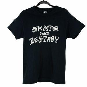 Thrasher Skater Shirt Short Sleeve Skate & Destroy